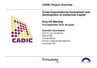 CADIC Project Overview