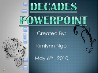 Decades PowerPoint