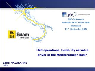 LNG operational flexibility as value driver in the Mediterranean Basin