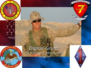 Digital Grunt: IT in the Marine Rifle Company  during OIF