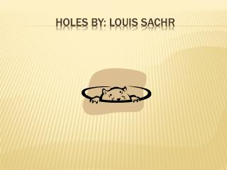 Holes By: Louis sachr