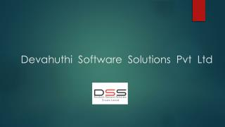Devahuthi  Software  Solutions  Pvt  Ltd