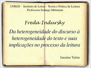 Freda Indursky