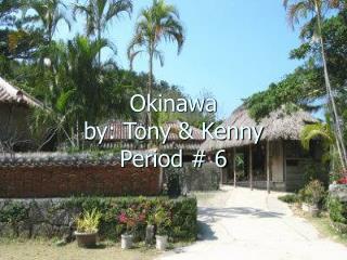 Okinawa by: Tony & Kenny Period # 6