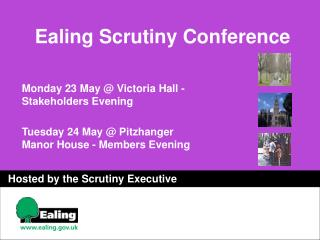 Ealing Scrutiny Conference