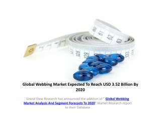 Webbing Market Forecast to 2020: Grand View Research, Inc.