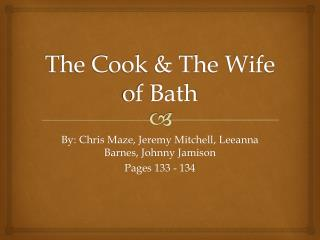 The Cook & The Wife of Bath
