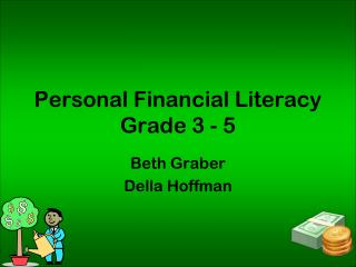 Personal Financial Literacy Grade 3 - 5