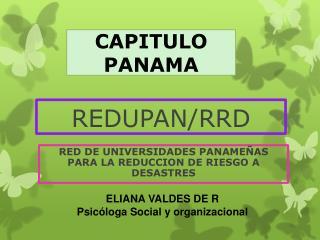 REDUPAN/RRD