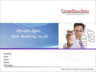Métodos Ágeis Agile Modeling , ou AG