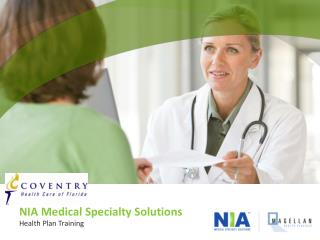 NIA Medical Specialty Solutions