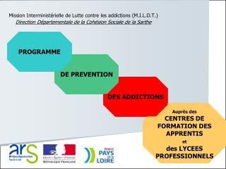 Mission Interministérielle de Lutte contre les addictions (M.I.L.D.T.)