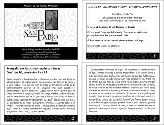 Centro de Espiritualidad Apostólica San Pablo espiritualidad.sanpablo@gmail