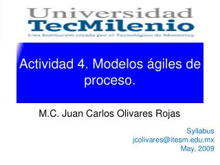 Actividad 4. Modelos ágiles de proceso.