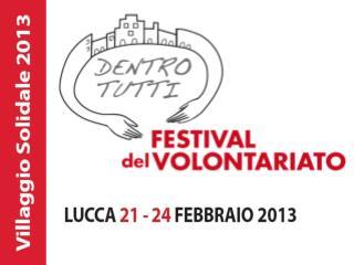LUCCA 2012 Villaggio Solidale