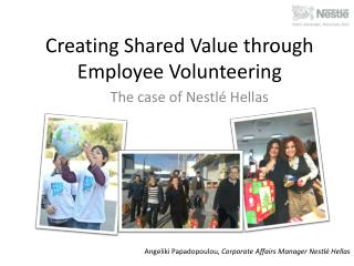 Creating Shared Value through Employee Volunteering
