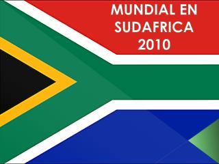 MUNDIAL EN SUDAFRICA 2010