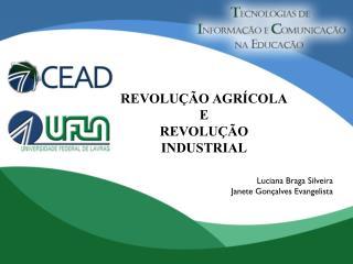 REVOLUÇÃO AGRÍCOLA E REVOLUÇÃO INDUSTRIAL