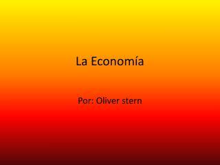 L a Economía