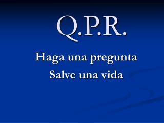 Q.P.R.