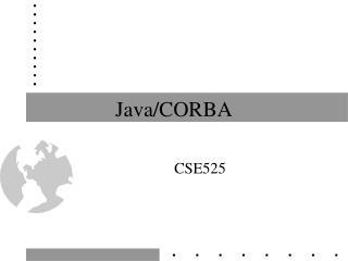 Java/CORBA