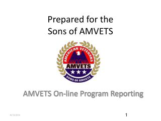 Prepared for the  Sons of AMVETS