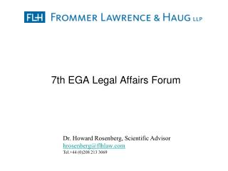 7th EGA Legal Affairs Forum