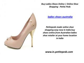 Ladies Shoes Australia    Online Shoe Shopping