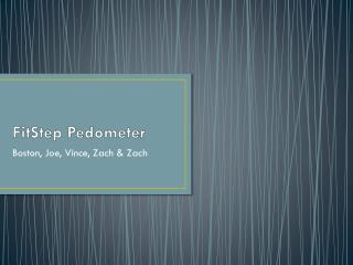 FitStep  Pedometer