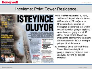 İnceleme: Polat Tower Residence