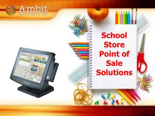 School Store Point of Sale Solutions