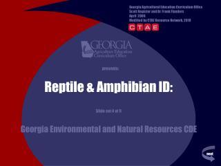 Reptile & Amphibian ID: