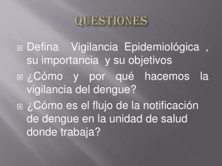 QUESTIONES