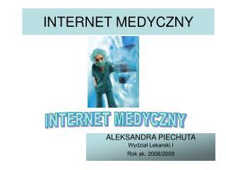 INTERNET MEDYCZNY