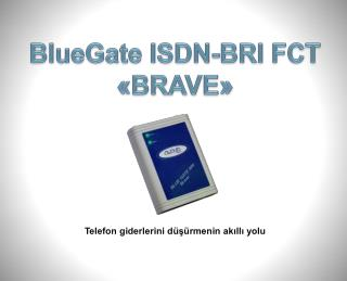 BlueGate  ISDN- B RI FCT «BRAVE»