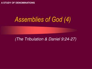Assemblies of God (4)
