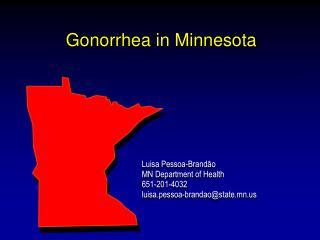 Gonorrhea in Minnesota