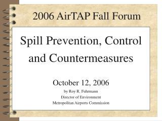 2006 AirTAP Fall Forum