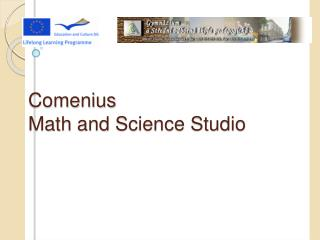 Comenius Math and  Science Studio