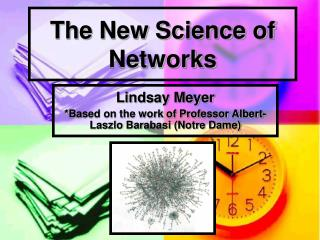 The New Science of Networks