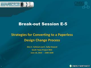 Break-out Session E-5
