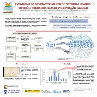 Previsão de precipitação sazonal no Nordeste Brasileiro