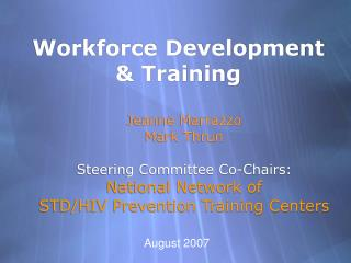 Workforce Development   Training
