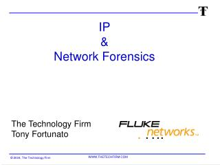 IP  & Network Forensics