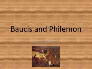 Baucis and Philemon