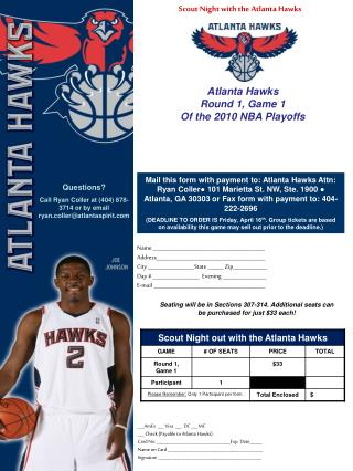 Scout Night with the Atlanta Hawks