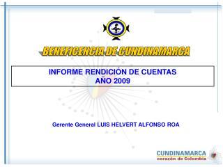 INFORME RENDICIÓN DE CUENTAS AÑO 2009