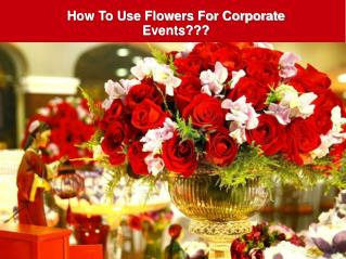 Top Tips For Choosing Wedding Flowers