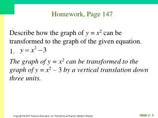 Homework, Page 147