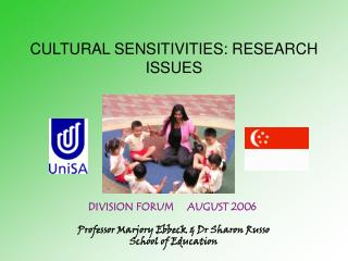 CULTURAL SENSITIVITIES: RESEARCH ISSUES